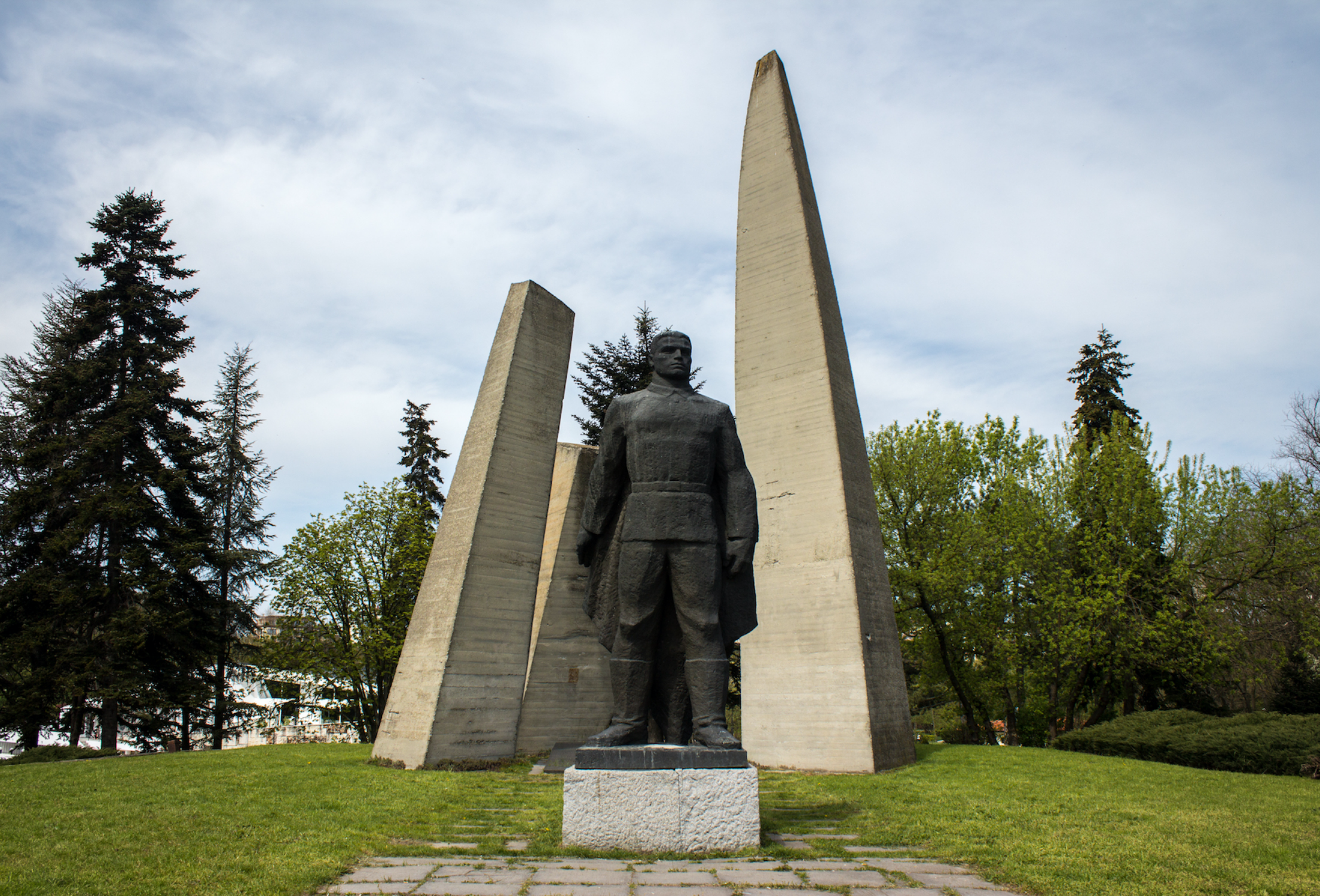 Monument to the Dead in the Great Patriotic War, Dobrich (1964).